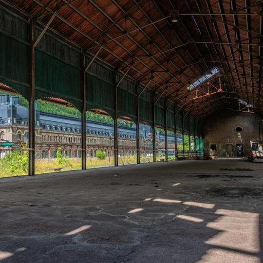 Stunning abandoned train stations from all over the world. Part 1.
